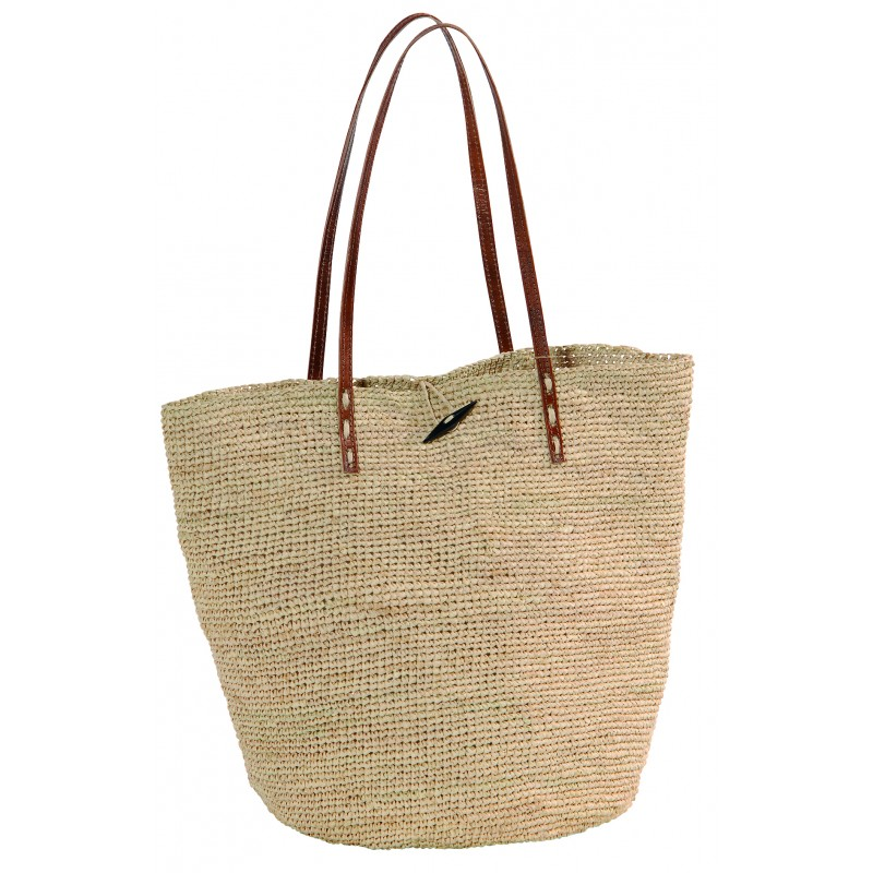 Des Sacs En Crochet : Sac crochet raphia ilana th? b?do objets de d?coration