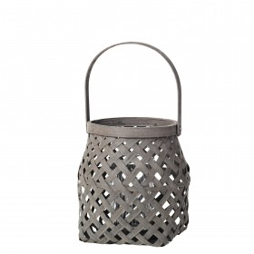 "Lanterne ""SALLY"" Bambou et Bois"