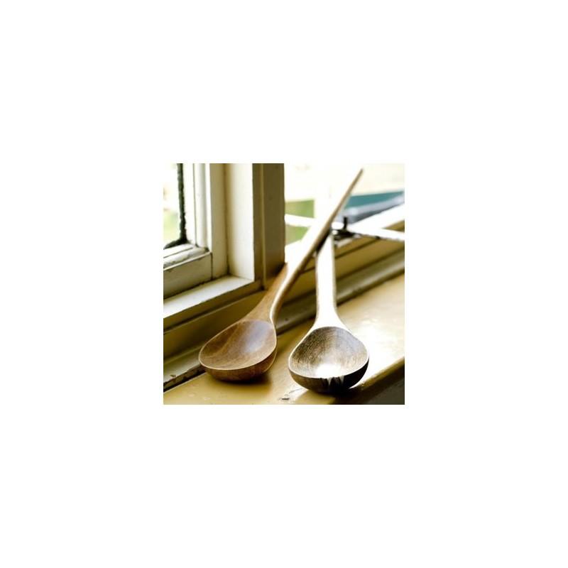 couverts salade en bois de manguier 46cm b do. Black Bedroom Furniture Sets. Home Design Ideas