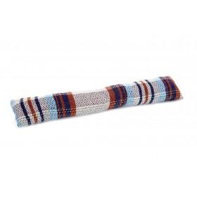 Boudin de porte en laine recyclée 80x16cm