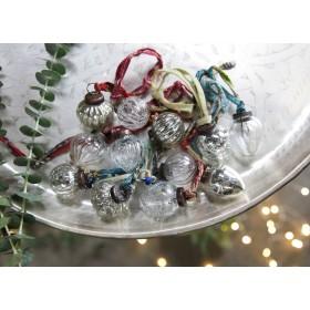 Boules de Noël en Verre Recyclé