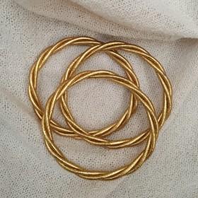Bracelet Bouddhiste Torsadé Porte-Bonheur Torsadé Modèle Epais L