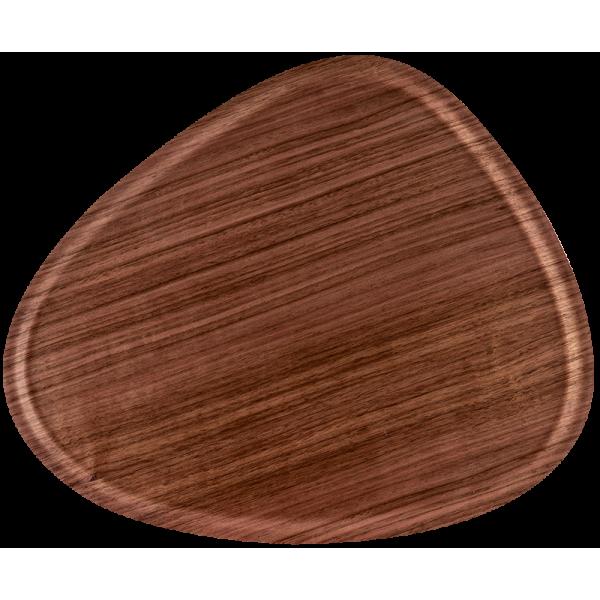 Plateau Ary en bois de bouleau contreplaqué noyer