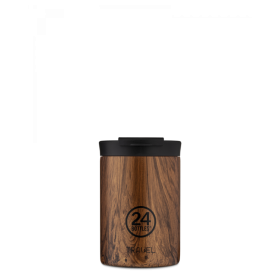 Mug nomade isotherme SEQUOIA WOOD 350ml