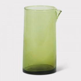 carafe en verre recyclé