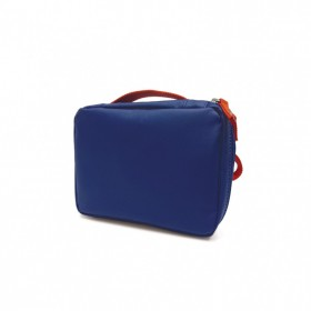 Trousse en plastique recyclé Royal Blue