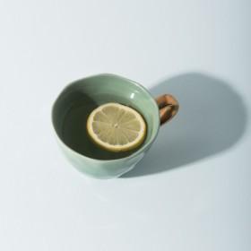 Tasse Déjeuner en grès Jade