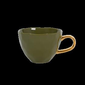 Tasse Déjeuner en porcelaine Vert Anglais