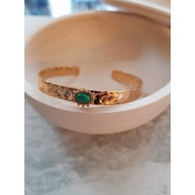 Bracelet PALOMA Malachite