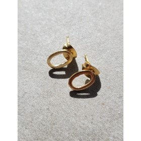 Boucles d'oreilles GEO OVALE LAMALI