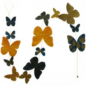 Guirlande Papillons Rhizome Lamali