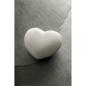 Galet de massage marbre blanc coeur tade